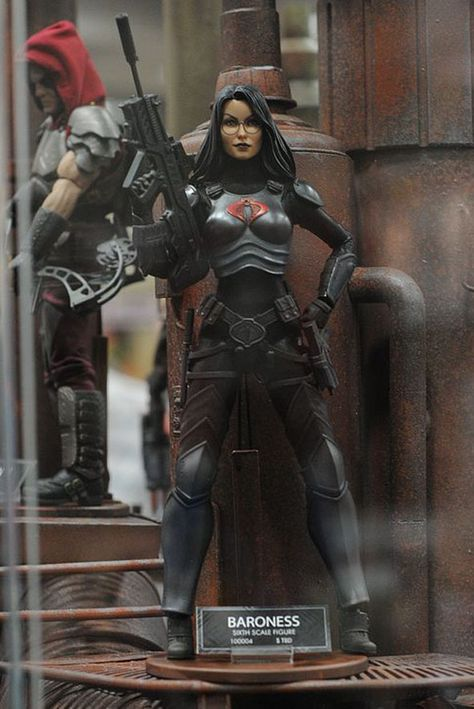 Spotted at Sideshow Collectibles scale Baroness Female Figure