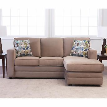 Peachy Beeson Fabric Queen Sleeper Reversible Sectional Home Ncnpc Chair Design For Home Ncnpcorg