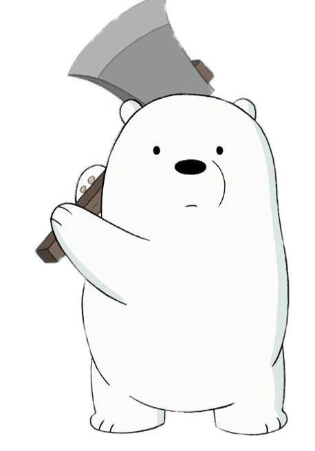 Ice Bear Kartun Anak Beruang Hewan