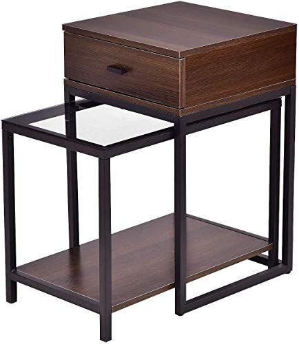 Pleasant Enjoy Exclusive For Tangkula Nesting Coffee End Tables Gmtry Best Dining Table And Chair Ideas Images Gmtryco