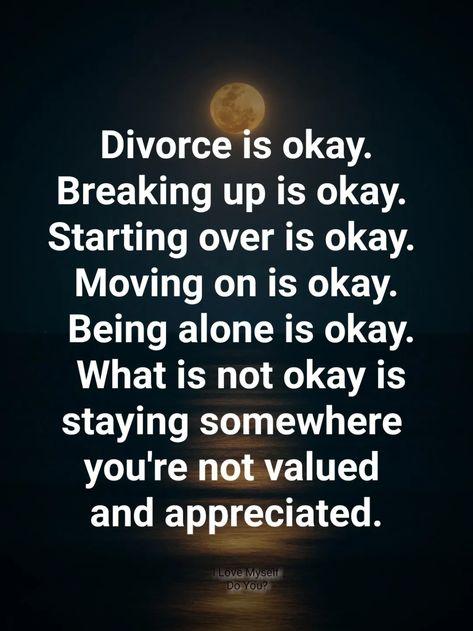 Divorce is okay
