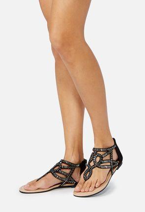 Ettie Flat Sandal Women Shoes Comfortable Sandals Justfab