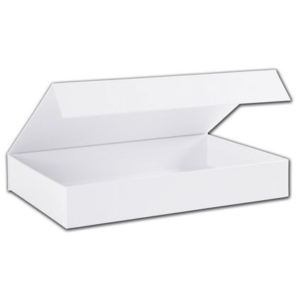 White Malibu Magnetic Boxes 10 3 4 X 7 1 8 X 1 5 8 Bags Bows 10 Things Magnets White