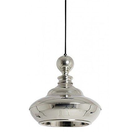 Lightmakers 3032419 Hanging Pendant Light In Shiny Nickel Diameter Mirella By Light And Living Unique And Hanging Pendant Lights Pendant Light Light Fixtures