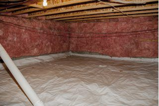 A musty smell coming from your crawl space could be a sign of mold or mildew growing inside, generally resulting from high humidity levels. Humidity sneaks in through the walls,.