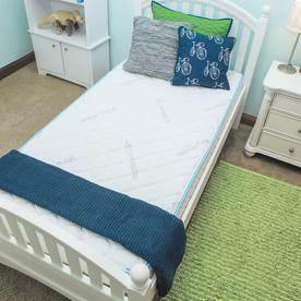 Firstime Firstime And Co 174 Kids Blue 8 8221 Memory Foam Comfort Mattress In A Box 70020 Comfort Mattress