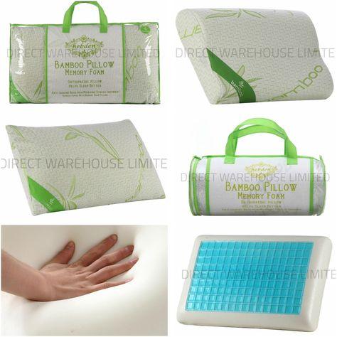 NEW BAMBOO MEMORY Foam Pillow, Anti