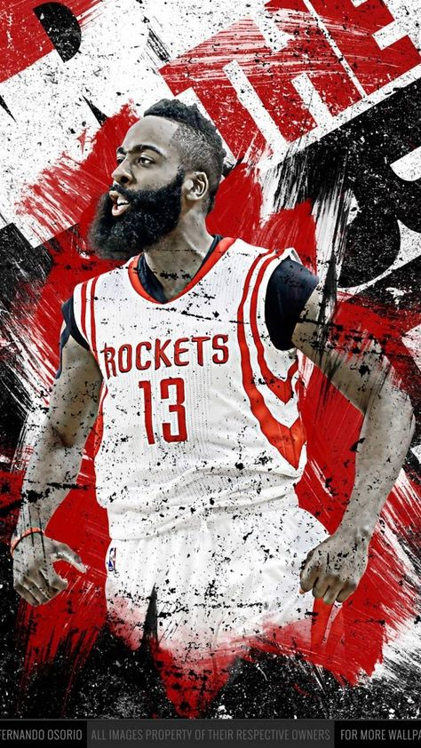 Houston Rockets poster wall decoration photo print 24x24 inches