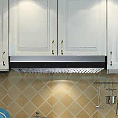 Winflo 30 500 Cfm Convertible Under Cabinet Range Hood Under Cabinet Range Hoods Range Hood Kitchen Range Hood