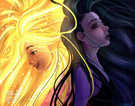 Healing and Hurt Incantation - Tangled the serie by miguel-amshelo on DeviantArt