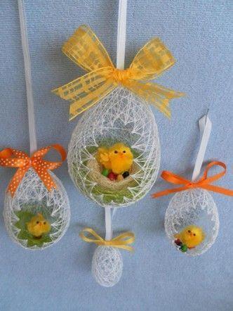 DIY Easter Egg Basket from Thread 14