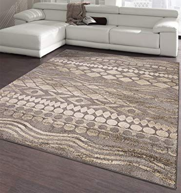 Ottomanson Urban Collection Contemporary Sculpted Effect Tribal Print Grey Area Rug 5x7 5 3 X 7 3 Review 5x7 Area Rug Grey Area Rug Area Rugs