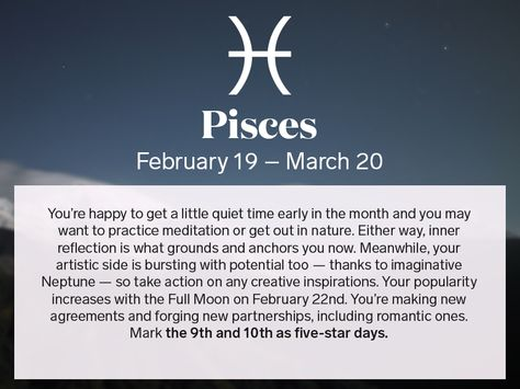 february 19 horoscope pisces