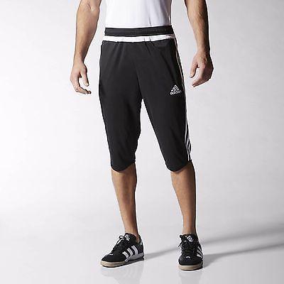d8e0d48d197f15 adidas Tiro 15 Three-Quarter Pants Men s Black