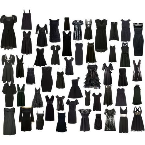 How many ways can you say Little Black Dress?