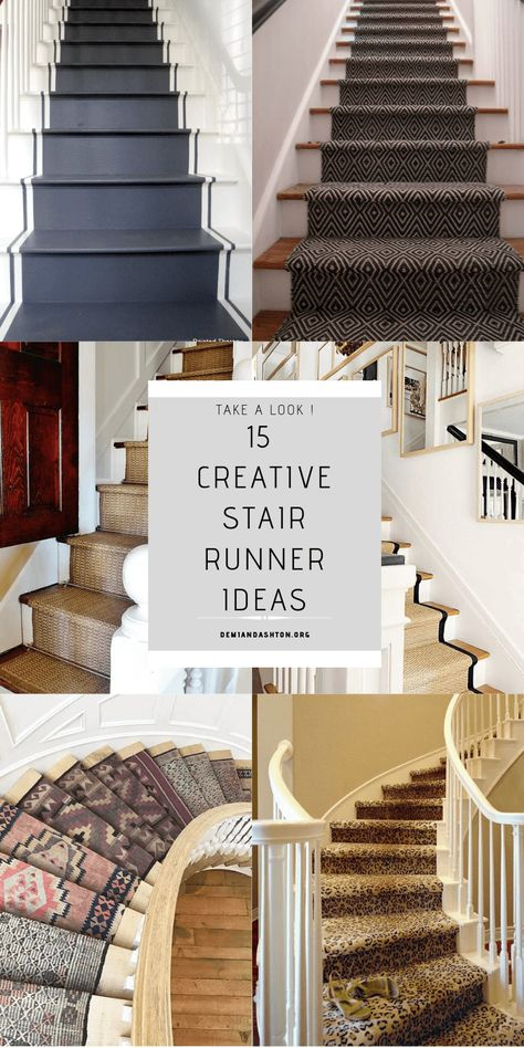 Best 15 Creative Stair Runner Ideas That Will Make Your 400 x 300