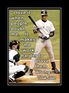 Baseball Motivation Poster, Player Decor, Son Wall Art featuring Derek Jeter and a compelling quote. Derek Jeter fan or NY Yankees Fan. Game Day Quotes, Boy Quotes, Sport Quotes, Photo Quotes, Picture Quotes, Idea Quotes, Baseball Motivational Quotes, Softball Quotes, Inspirational Quotes