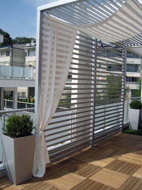 Pergola terrasse 48 idées pour une déco extérieure moderne - moderne dachterrasse unterhaltungsmoglichkeiten