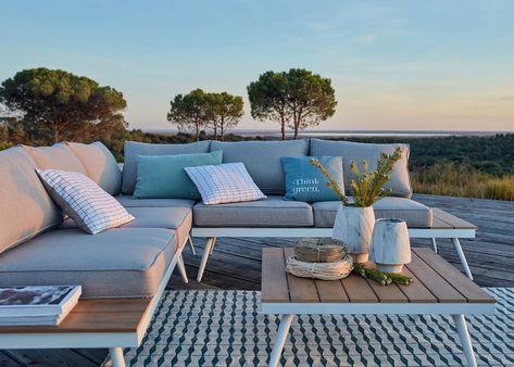 Tapis extérieur pour terrasse et jardin | Salon de jardin ...