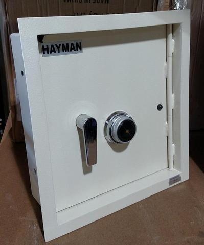 Hayman Ws 7 Heavy Duty Wall Safe Wall Safe Combination Locks Cool Walls
