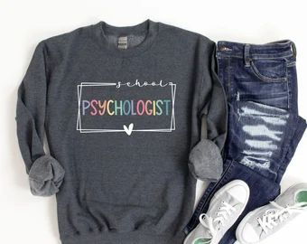 School psychologist shirt   Etsy