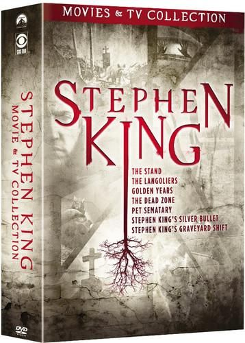 Stephen King: Movies & TV Collection - New on DVD in 2019