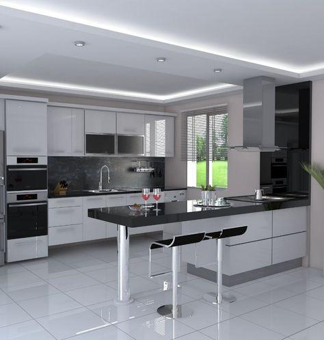 50+ Modern Decorated Kitchen Design Ideas | Decoration Goals