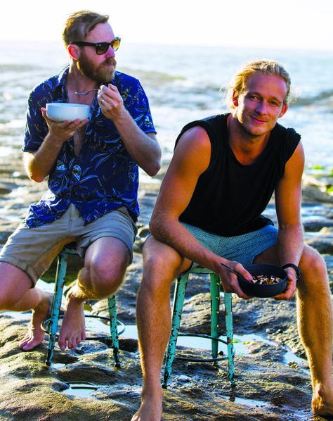 Mark Alston and Guy Turland of Bondi Harvest