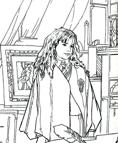 Pin Di Christine Woods Su Harry Potter Disegni Da Colorare