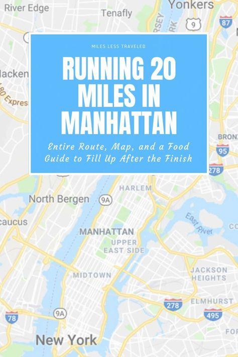 Running In Manhattan City Marathon New York Marathon Running