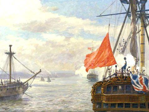 """Geoff Hunt Print - """"Mutiny"""