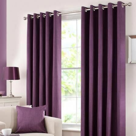 Waters And Noble Aubergine Solar, Solar Navy Blackout Eyelet Curtains