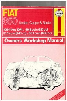 fiat 850 owner s workshop manual service repair manuals 978 rh pinterest ru Fiat 850 Sport Coupe Fiat 850 Engine