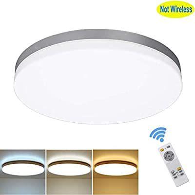 Amazon Com Dllt 24w Modern Dimmable Led Flushmount Ceiling Light