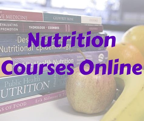 Nutrition Courses Online For Free : Ultimate Guide