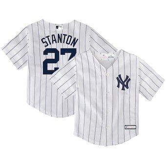 on sale 43756 b33f9 Giancarlo Stanton New York Yankees Toddler Replica Player ...