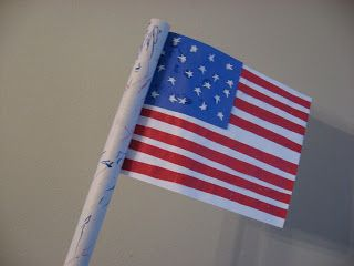 a695281c91be Patriotic Crafts For Memorial Day - No Time For Flash Cards