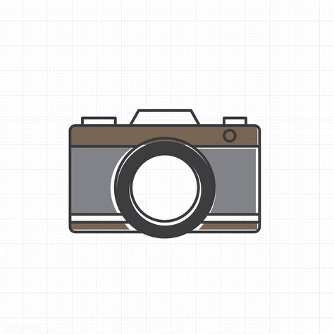 Vector Of Camera Icon Free Image By Rawpixel Com Minty Camera Icon Camera Logo Camera Illustration