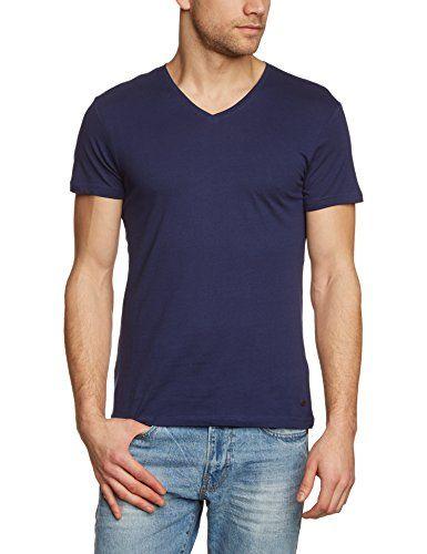 edc by ESPRIT Herren T-Shirt Basic - Slim Fit   Casual Men Style ... a197d8a895