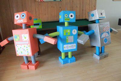 M₈ Robot Birthday Party