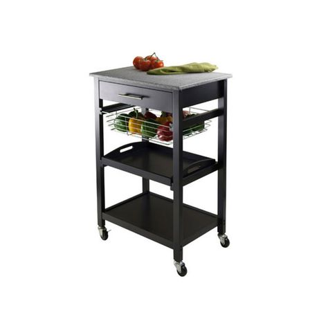 Stupendous Winsome Julia Utility Cart Products Kitchen Cart Home Interior And Landscaping Oversignezvosmurscom