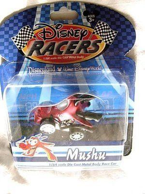 Disney RACERS ~ Mulan MUSHU Dragon ~ 1/64 Die Cast Metal