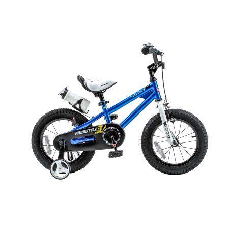 Royalbaby Freestyle Blue 16 Inch Kid S Bicycle Kids Bicycle Bike With Training Wheels Kids Bike