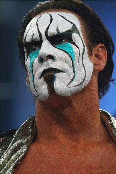Sting Face Paint : sting, paint, STING, Icon,, Franchise,, Stinger,, Ideas, Wrestler,