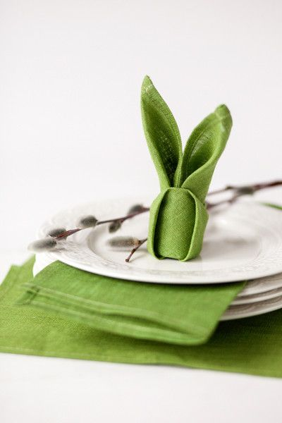 Napkins Napkin Rings Green Linen Napkins Easter Napkins A Unique Product By Linenhomeshop On Dawa Easter Napkins Easter Table Decorations Green Napkins