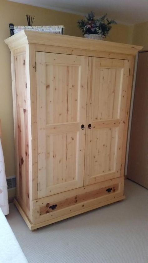 Bedroom Armoire Wardrobe Closet - 80
