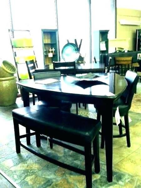 Black Triangle Dining Table With Bench Picture Idea Dining Table Dining Table Setting Dining Table With Bench