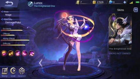 Lihat Detail Hero Baru Lunox Mobile Legends Game