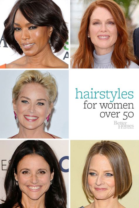 Find a hairstyle that works with where you are in life! Click through for some inspiration: http://www.bhg.com/beauty-fashion/hair/hairstyles-for-women-over-50/?socsrc=bhgpin070214hairstylesforwomen50