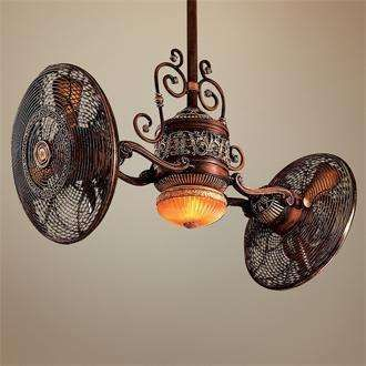 Two Fans On A Light. | Home   Fixtures | Pinterest | Fans, Lights And Punk  Bedroom